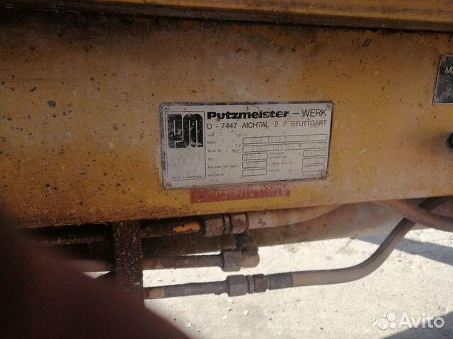 Бетононасос Putzmeister BSA 1408 D