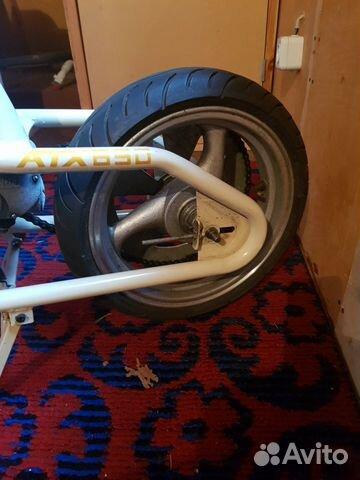 Прицеп с мотором к велосипеду  89584130922 купить 2