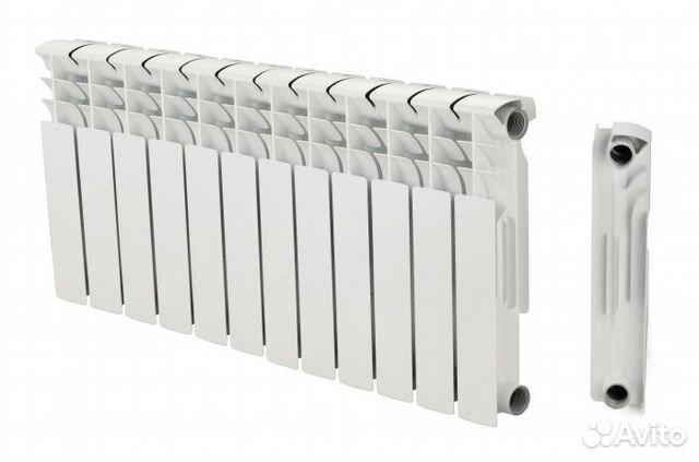 Биметаллические радиаторы 350 мм 10 секций