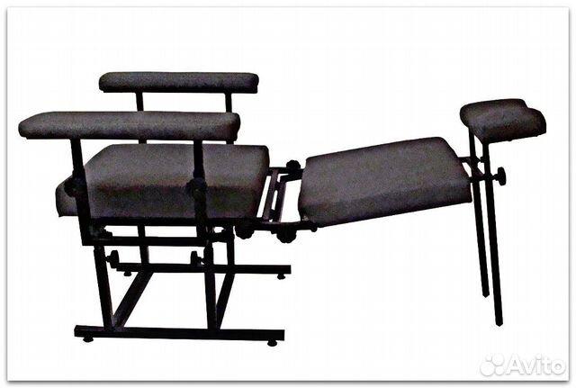 Кресло полиграфолога, профессиональное. Кресло дет