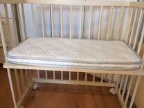 Колыбель приставная кровать