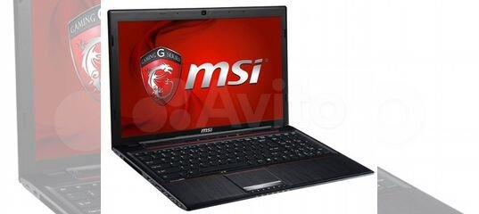 Игровой ноутбук MSI ms-16gh