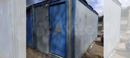 Бытовка бу блок контейнер в отличном состоянии 6м купить в Санкт-Петербурге | Для бизнеса | Авито