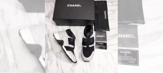 beae2be68f6c Кроссовки-носки Chanel купить в Санкт-Петербурге на Avito — Объявления на  сайте Авито