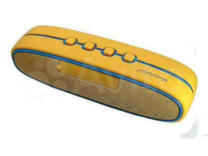 Беспроводная колонка Music Apollo S5 желтый