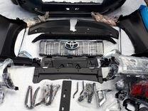 Pестайлинг для Toyota land Cruiser Prado150 09-17г