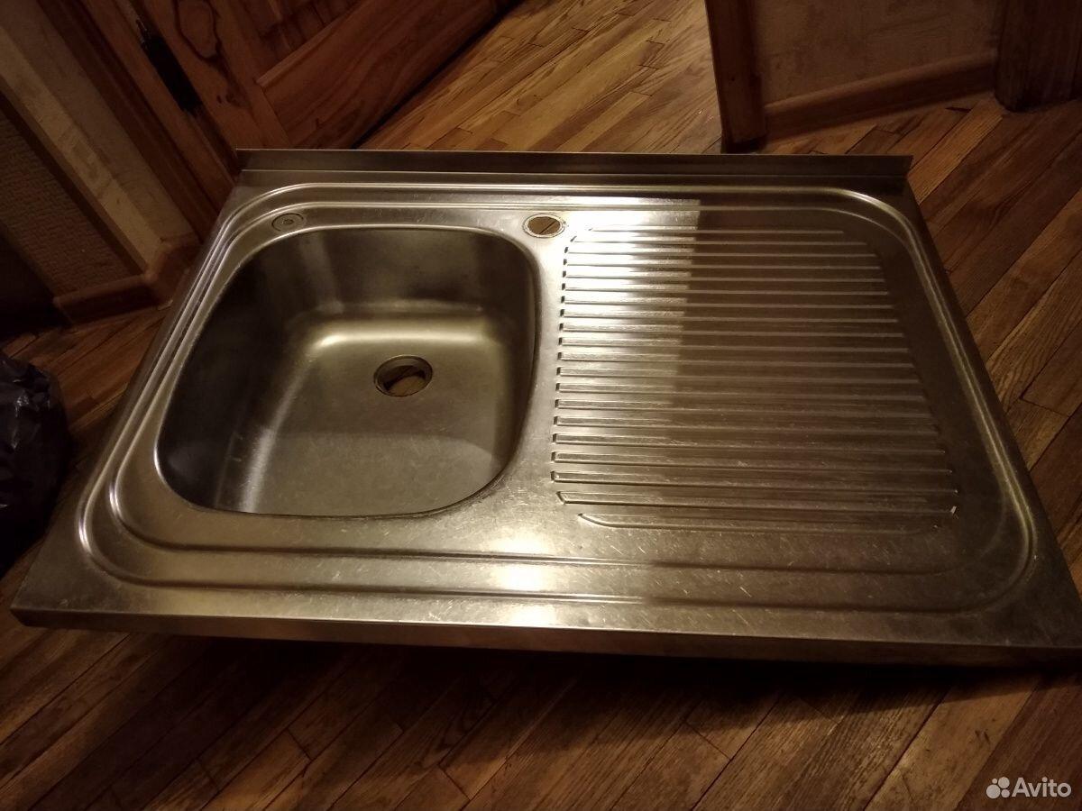 Кухонная мойка из нержавейки  89601608000 купить 2