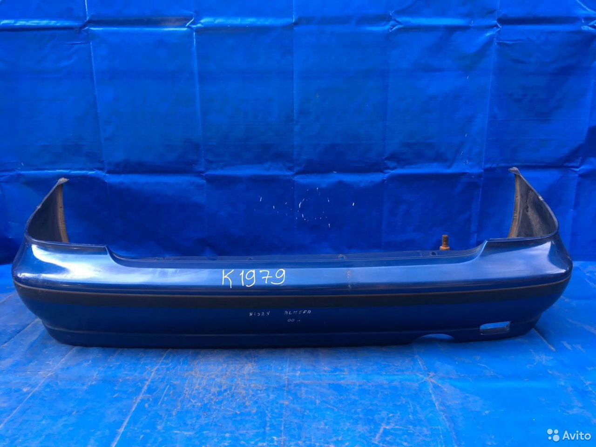 84732022776  Бампер задний Nissan Almera N15 1995-2000