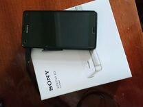 Смартфон сони Z3 компакт+силиконовый чехол