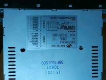 Штатный магнитофон лифан солано2 с рамкой