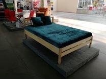 Кровать из массива в наличии на складе