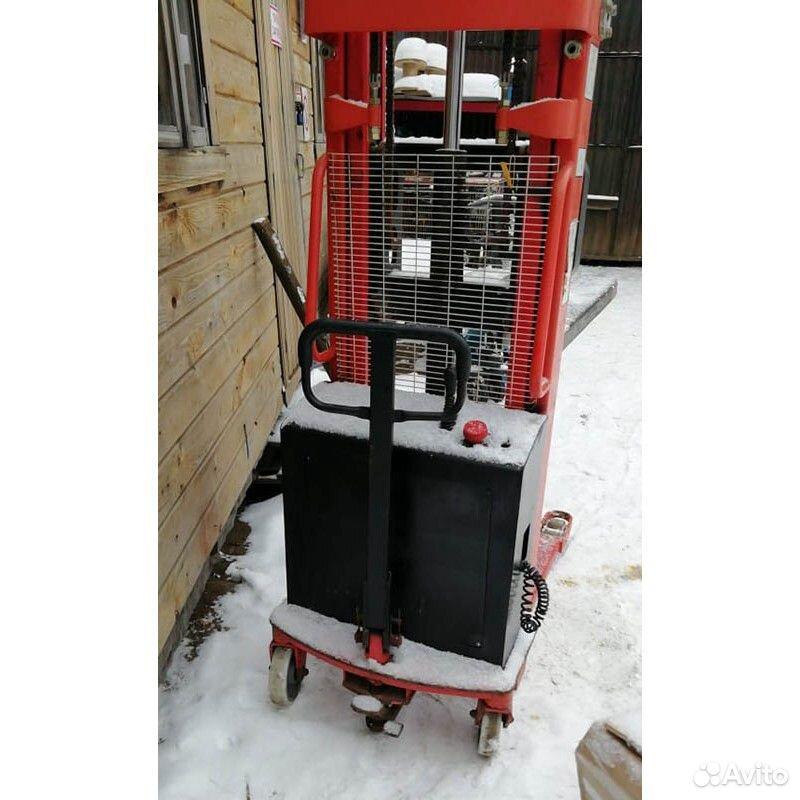 Штабелер гидравлический С электроподъемом TOR 1016  89601194386 купить 3