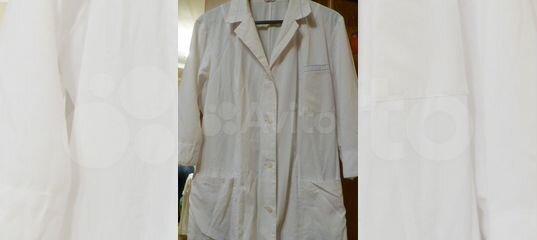 302cd968f11d2 Белые медицинские халаты купить в Курской области на Avito — Объявления на  сайте Авито