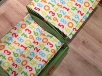 Коробки для игрушек в детскую