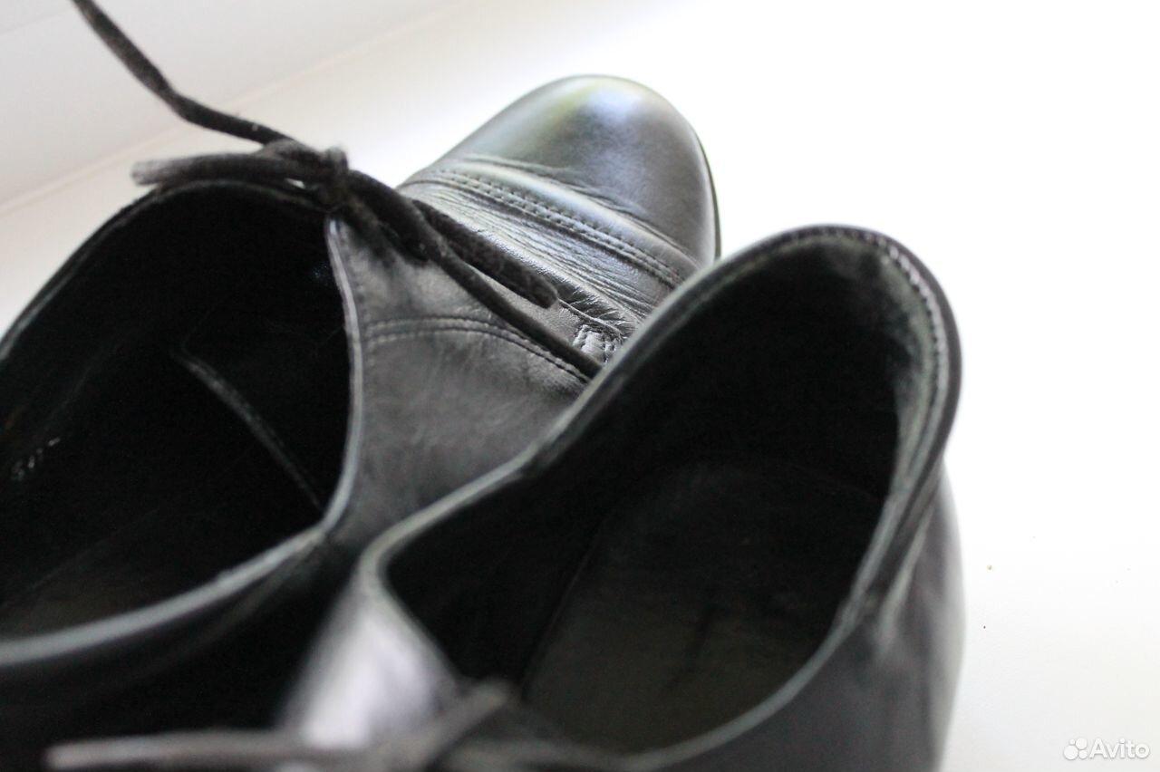 Ботинки из натуральной кожи, Юничел  89659429552 купить 4