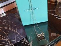 Цепочка кулон бесконечность Tiffany