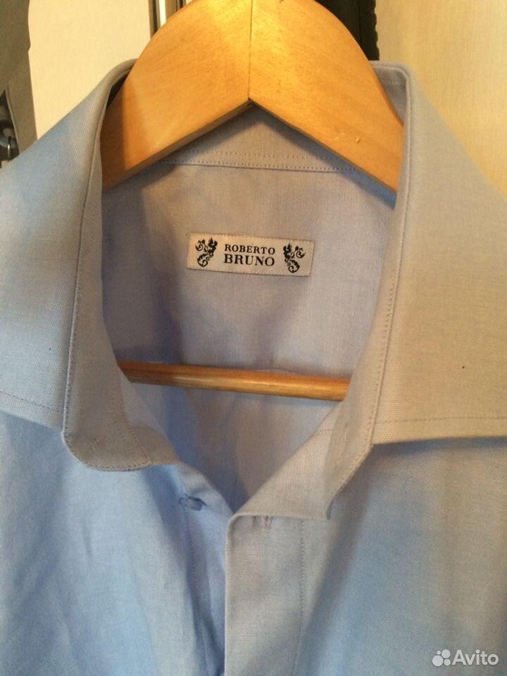 Рубашка мужская с длинным рукавом  89137839188 купить 1