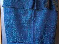 Новая элегантная юбка с баской