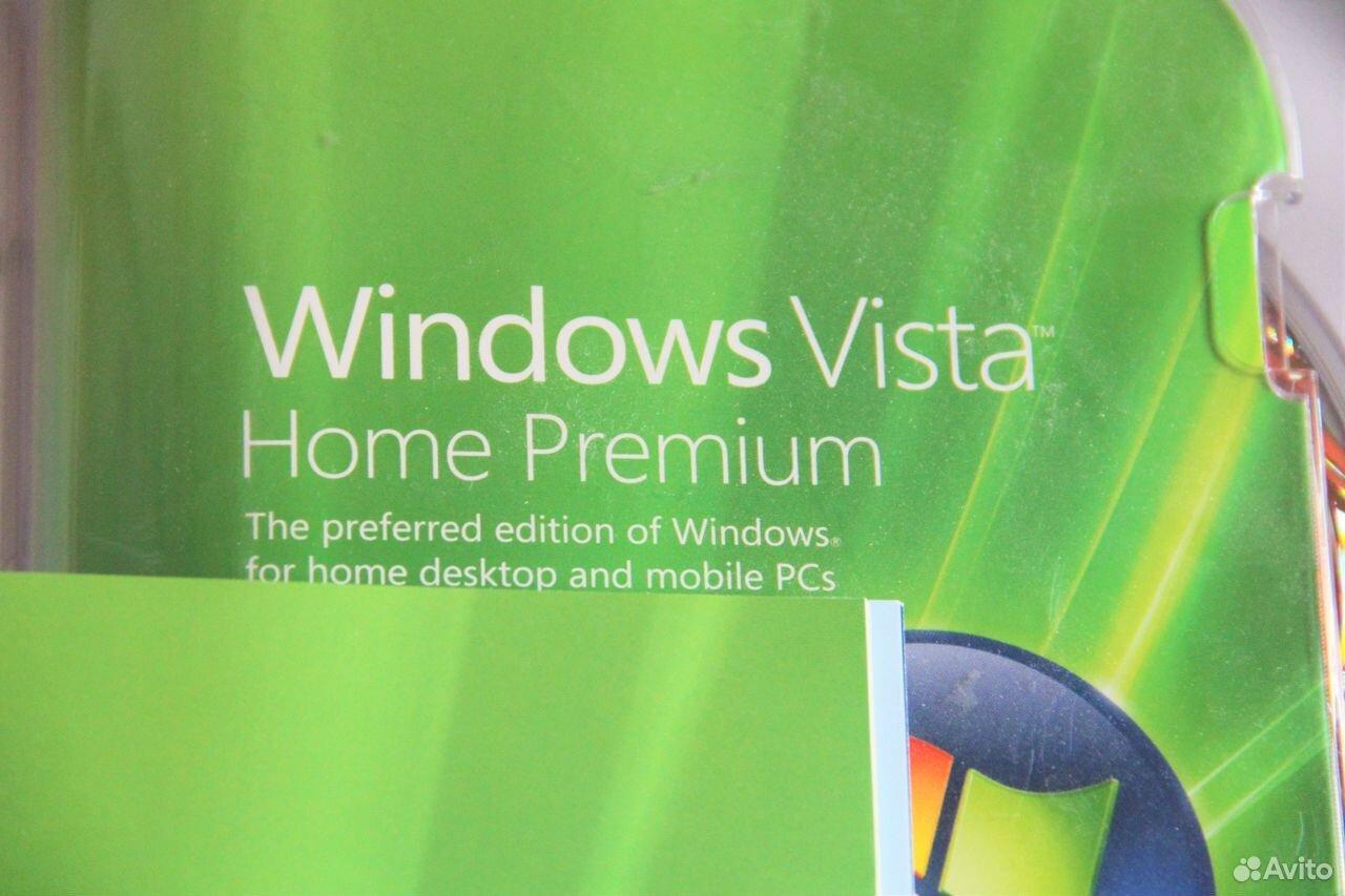 Windows Vista Home Premium BOX Лицензия  89610747575 купить 2