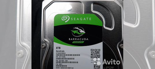 Hdd SATA st8000dm004 new 8000 gb