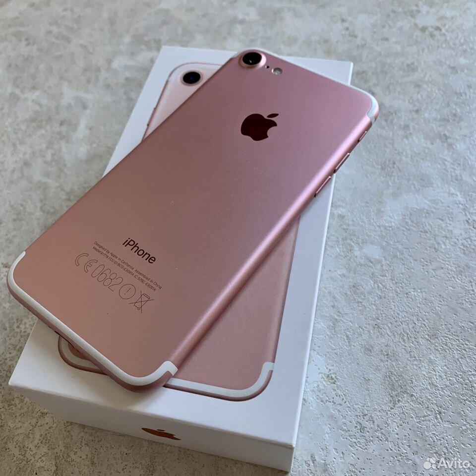 iPhone 7 32Гб RU/A Rose Gold  89243435002 купить 7