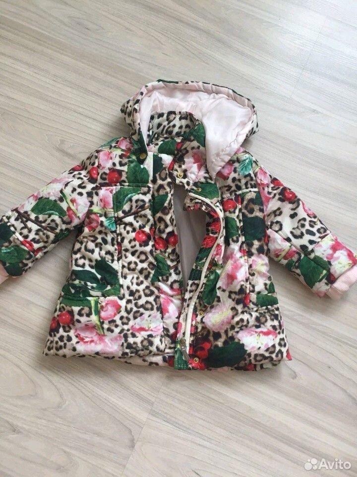 Куртка под Roberto Cavalli на 2-3 года  89132194162 купить 1