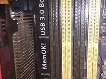 Материнская плата с процессором и оперативно памят