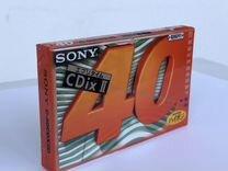 Аудиокассета Sony Cdix 2 (40) запечатанная