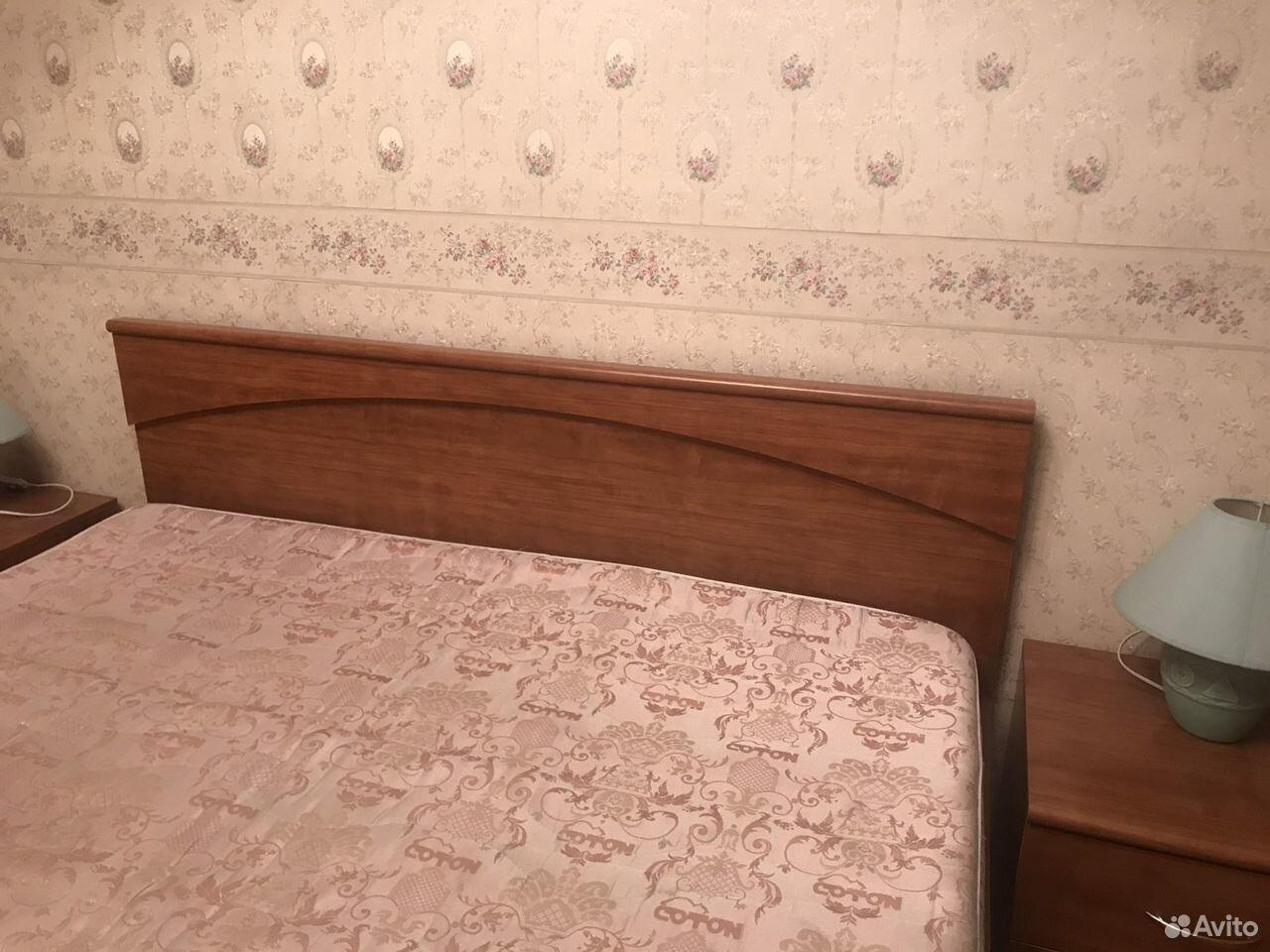 Кровать двуспальная с прикроватными тумбами  89039082198 купить 5