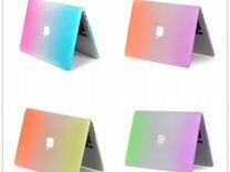 Радужные чехлы на Macbook Retina