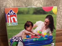 Бассейн с шариками новый