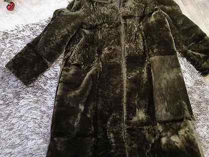 Шуба мутоновая 52 - 54 размер