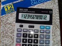 Калькулятор, большой, разрядность - 12
