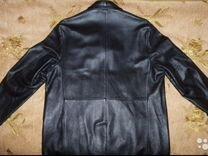 Мужская кожаная куртка dkny(оригинал)