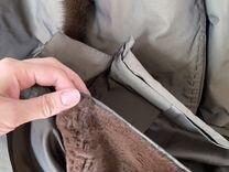 Пальто с норкой — Одежда, обувь, аксессуары в Санкт-Петербурге