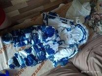 Зимний комбинезон на девочку — Детская одежда и обувь в Новосибирске