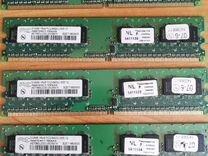 Hynix DDR2 512MB 1Rx8 PC2-6400U-555-12