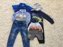 Вещи на мальчика, пакетом, размер 98-104