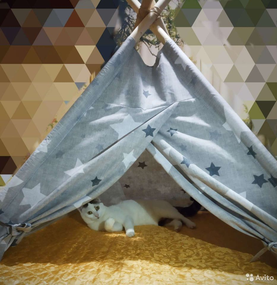 Домик для кошки/собаки (вигвам)