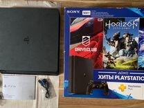 Sony PS4 slim 500gb+игры