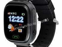 Детские часы с GPS Smart baby watch Q90,черные