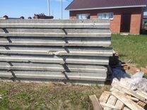 Забор из железобетонных паналей (ж\б, б\у)