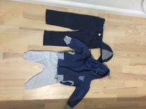 Костюм и джинсы