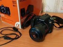 Зеркальный фотоаппарат Sony dslr-A350 Kit