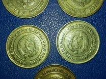 Монеты(стотинки) 1974г. Болгария