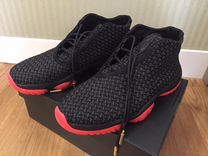 Кроссовки Jordan future premium black infrared 23