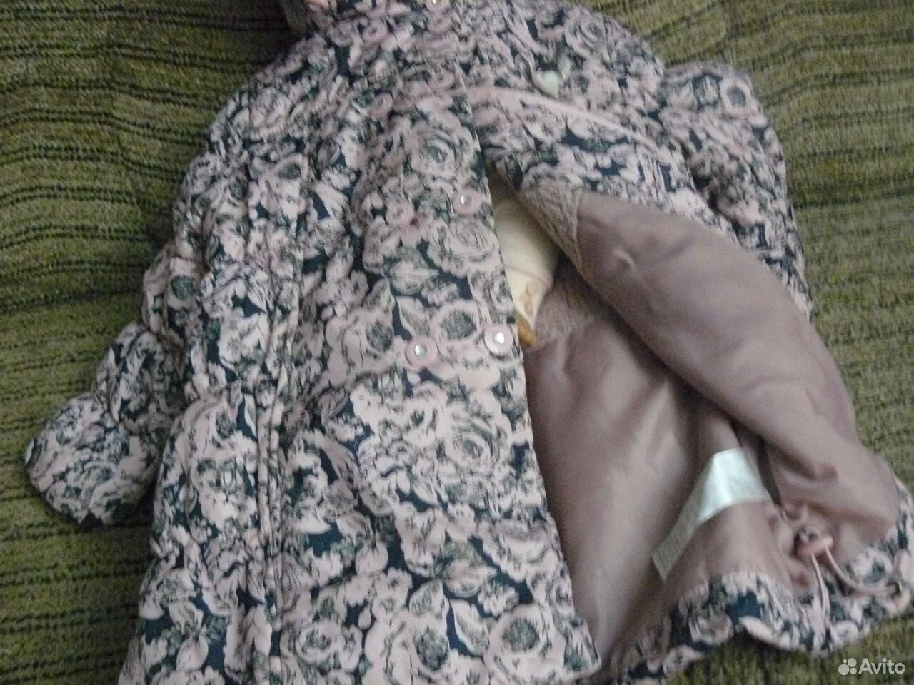 Пальто осеннее sela на 3 года  89871288618 купить 3